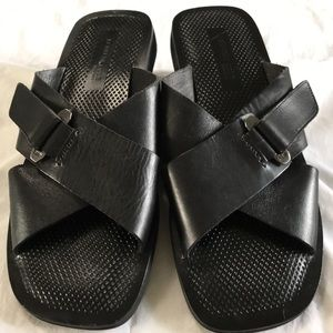 Men's Kenneth Cole New York Leather Sandals NWOT